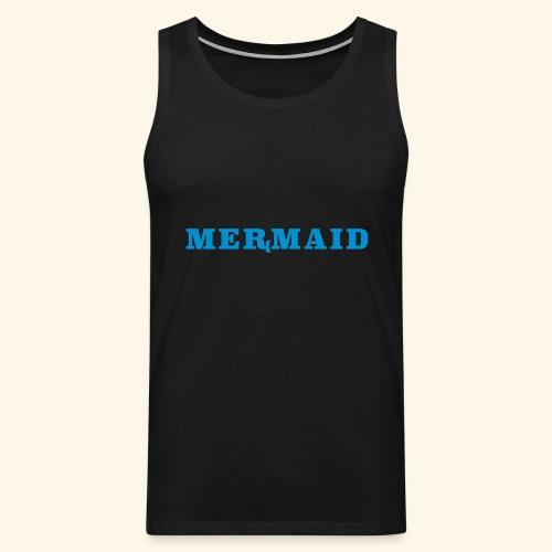 Mermaid logo - Premiumtanktopp herr