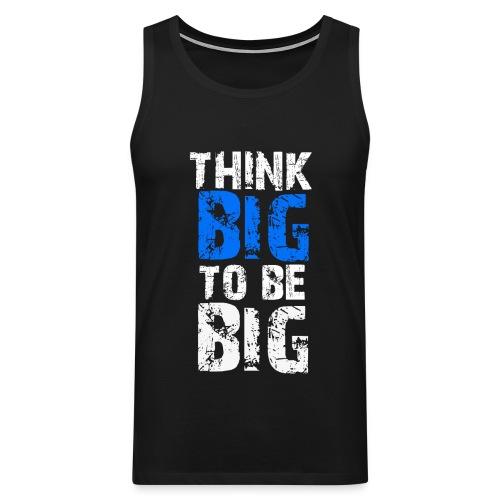 Shirt-Big - Männer Premium Tank Top