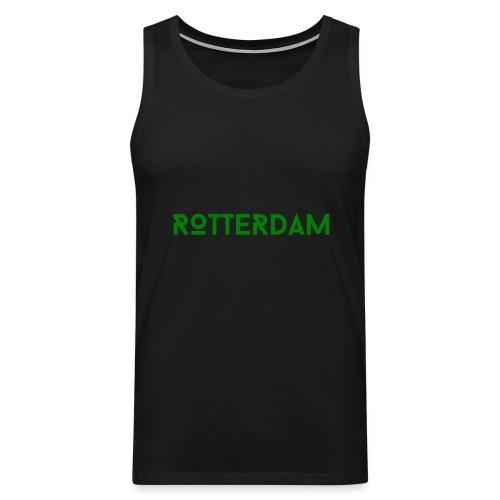Rotterdam (Groen) - Mannen Premium tank top