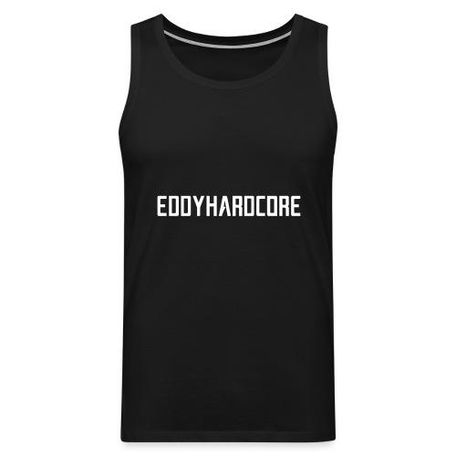 EddyHardcore logo nek transparant png - Mannen Premium tank top