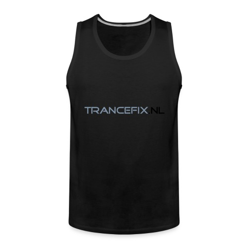 trancefix text - Men's Premium Tank Top