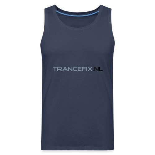 trancefix text - Men's Premium Tank Top