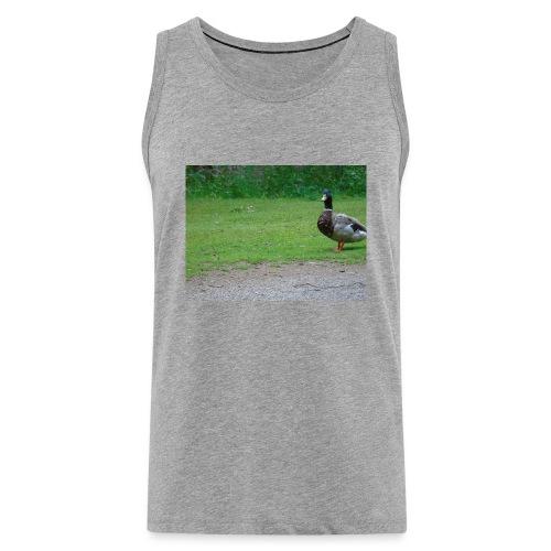 A wild duck - Men's Premium Tank Top