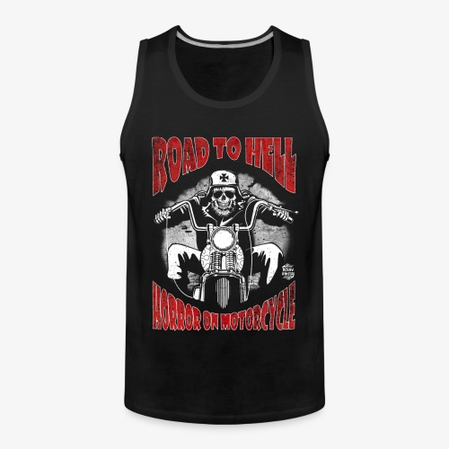 RoadToHellTshirtC - Tank top premium hombre