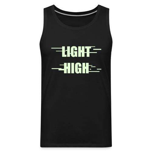 LIGHT HIGH - Men's Premium Tank Top