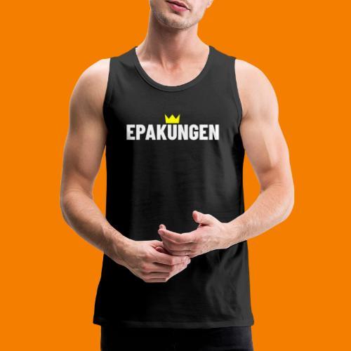 EPAkungen - Premiumtanktopp herr