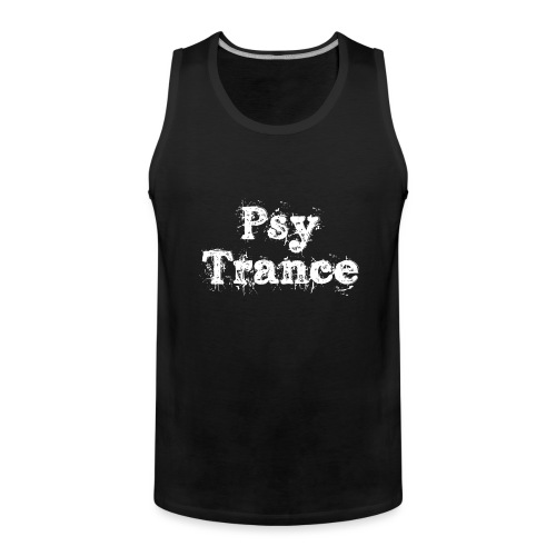 Trippy Psy Trance - Männer Premium Tank Top