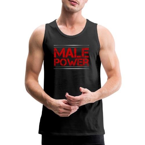 Sport - Male Power - Männer Premium Tank Top
