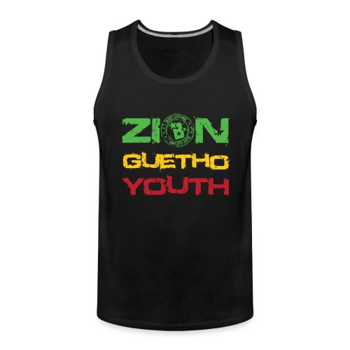 Zion Guetho Youth - Tank top premium hombre