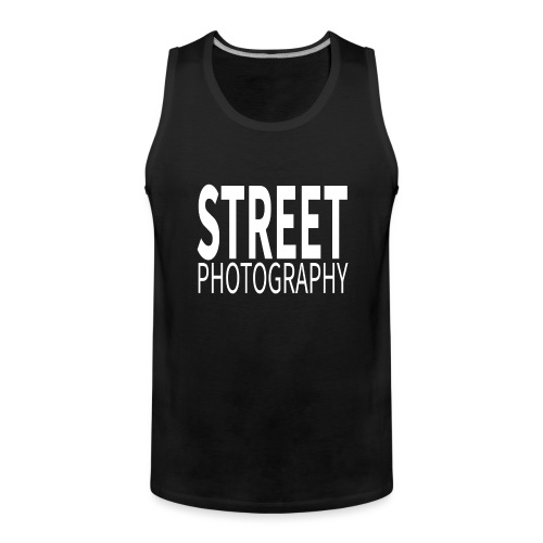 Street Photography T Shirt - Canotta premium da uomo