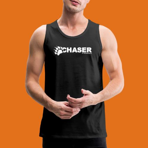 chaser by bearwear new - Men's Premium Tank Top
