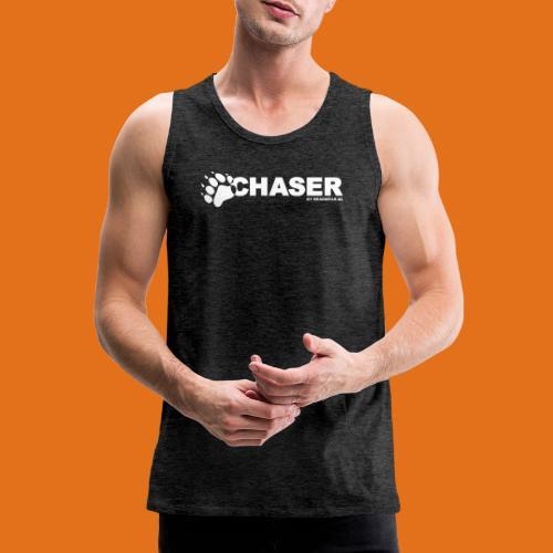 chaser by bearwear new - Men's Premium Tank Top