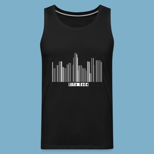 City Code - Deine Stadt - Männer Premium Tank Top
