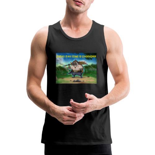 Never mess with a Hedgehog - Männer Premium Tank Top