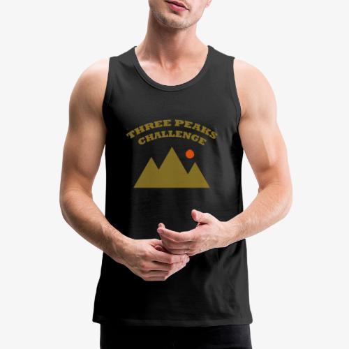 Three Peaks Challenge - Men's Premium Tank Top