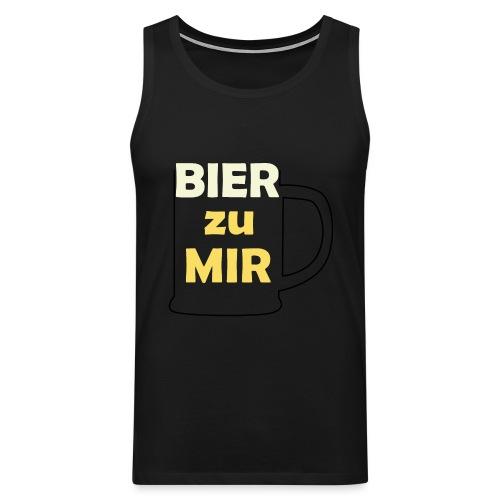 Bier zu mir - Männer Premium Tank Top
