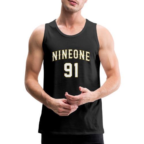 Nineone College Style 01 white - Männer Premium Tank Top