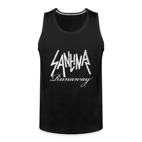 SANTINA gif - Men's Premium Tank Top