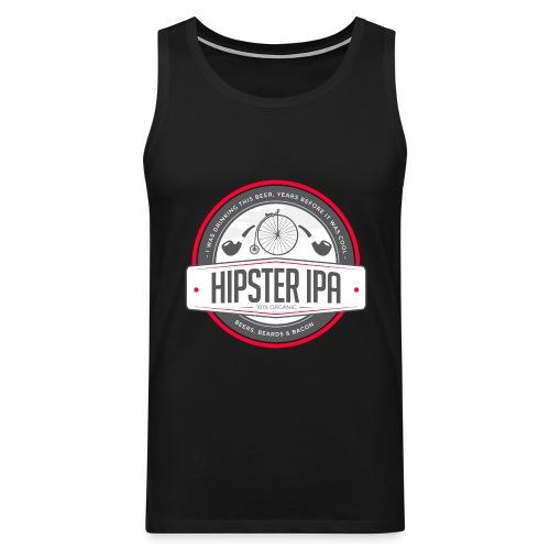 Hipster IPA - Men's Premium Tank Top