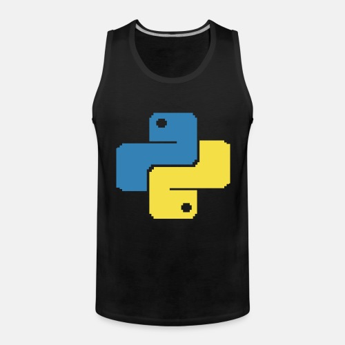 Python Pixelart - Men's Premium Tank Top