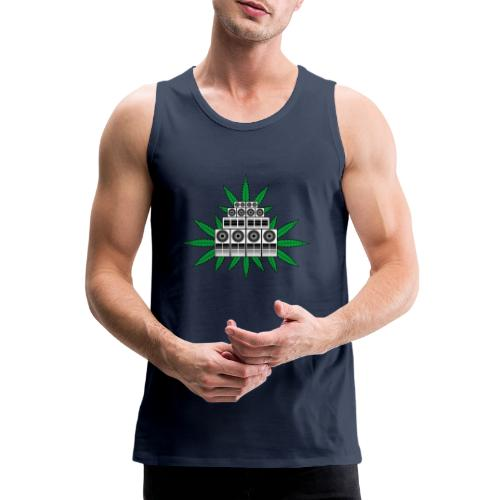 Ganja Sound System - Men's Premium Tank Top
