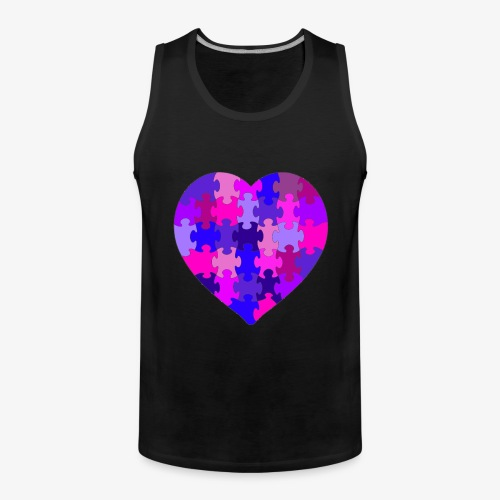 Purple Heart - Männer Premium Tank Top