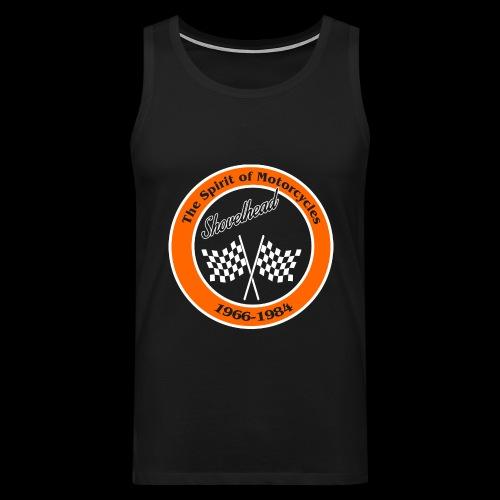 Zielflagge Shovelheat - Männer Premium Tank Top
