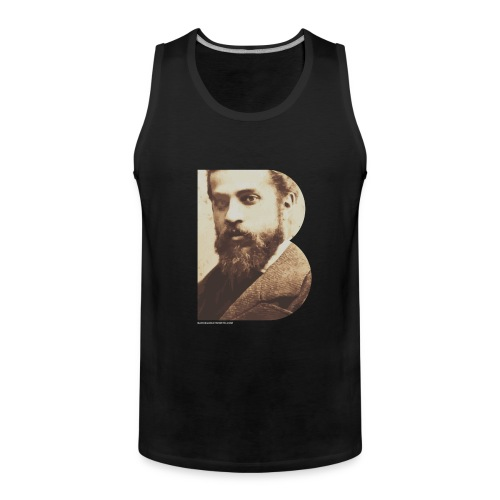 BT_GAUDI_ILLUSTRATOR - Men's Premium Tank Top