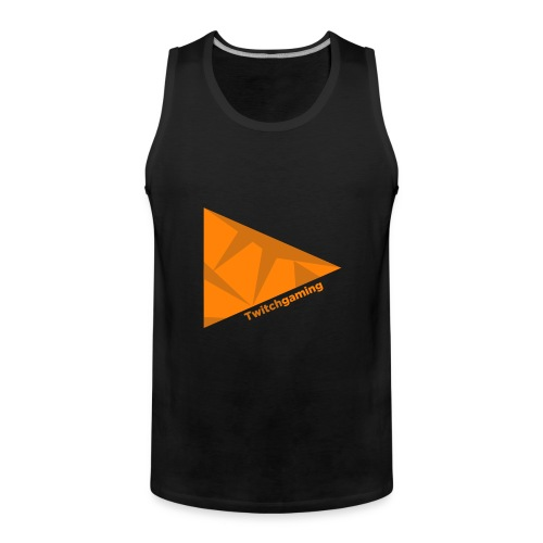 HotPans Twitchgaming Logo hinten - Männer Premium Tank Top