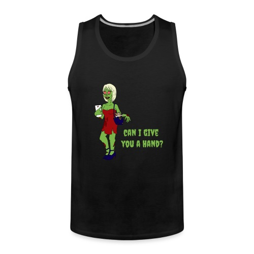 give a hand - Men's Premium Tank Top