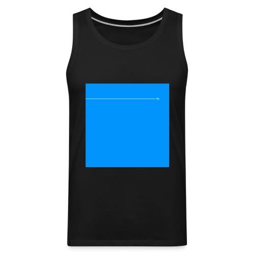 sklyline blue version - Débardeur Premium Homme
