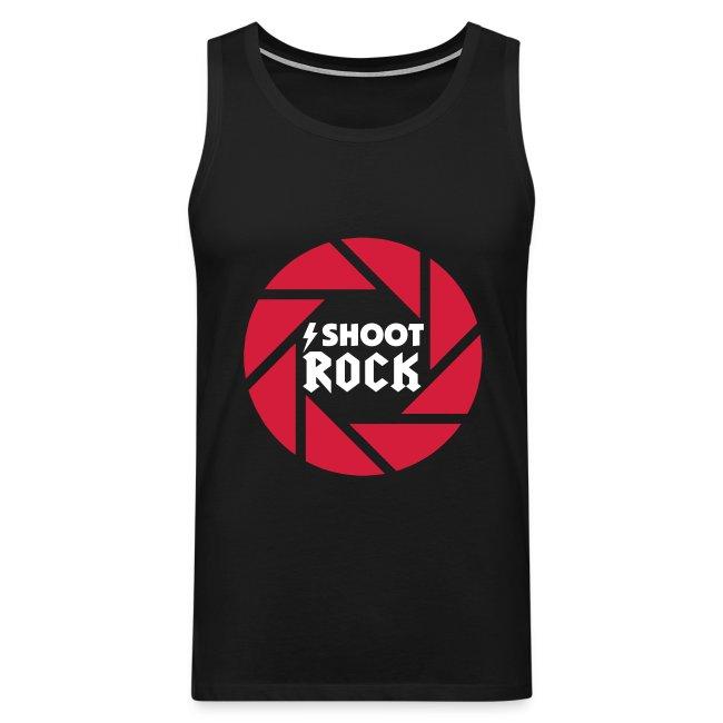 I shoot Rock (white)