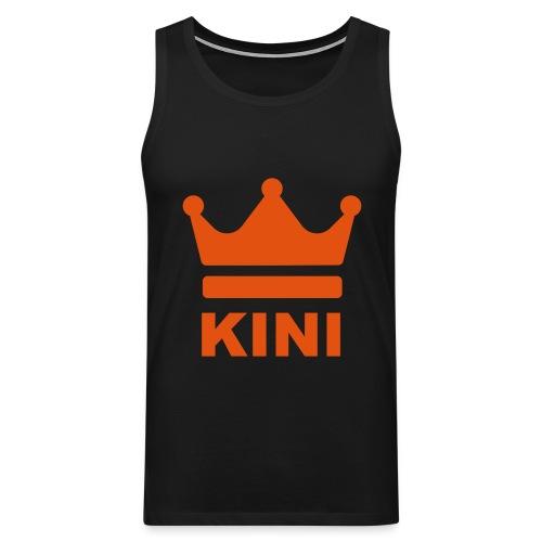 KINI ist König - Männer Premium Tank Top