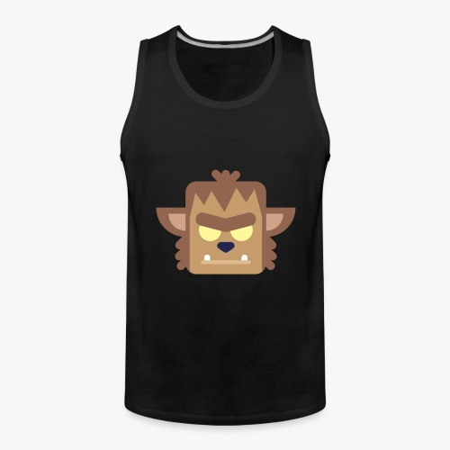 Mini Monsters - Werewolf - Herre Premium tanktop