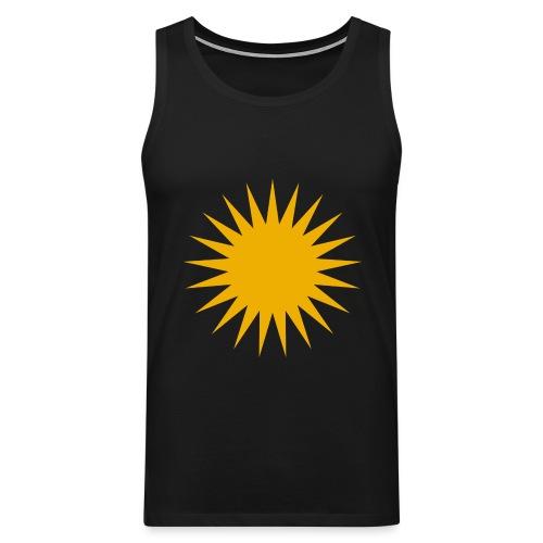 Kurdische Sonne Symbol - Männer Premium Tank Top