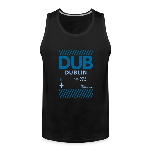 Dublin Ireland Travel - Men's Premium Tank Top