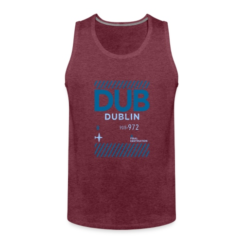 Dublin Ireland Travel - Men's Premium Tank Top