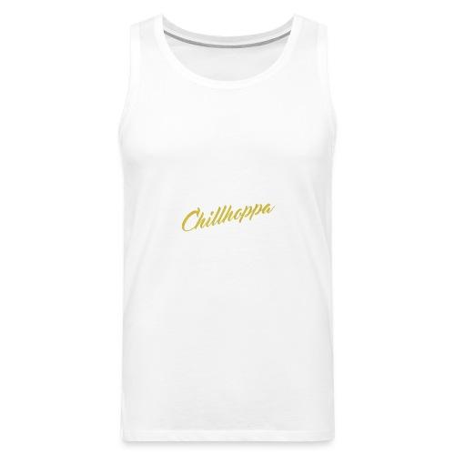 Chillhoppa Music Lover Shirt For Women - Men's Premium Tank Top