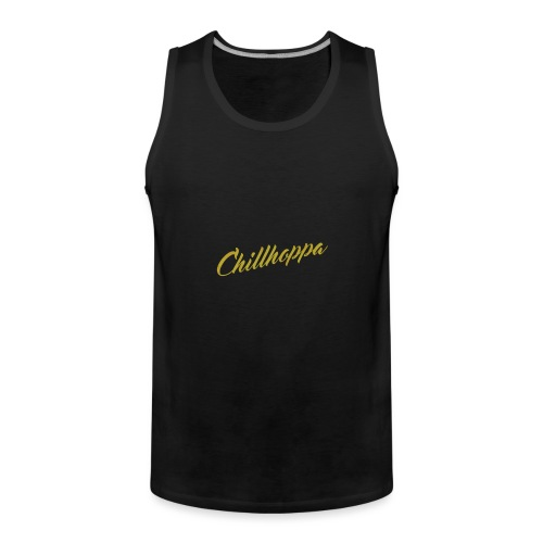 Chillhoppa Music Lover Shirt For Women - Men's Premium Tank Top