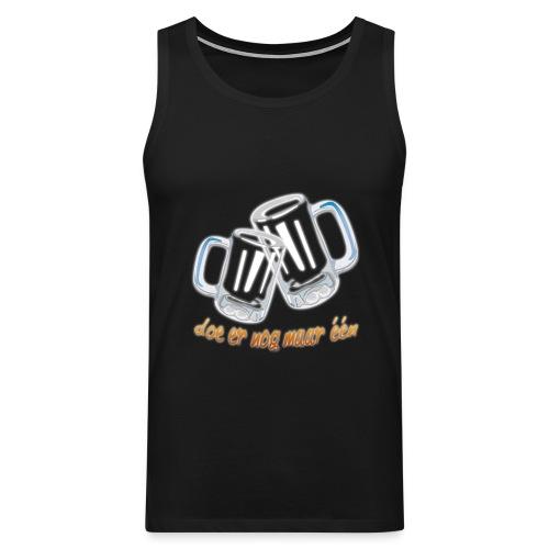 Doe er nog maar een Shirt png - Mannen Premium tank top