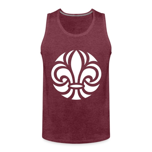 Scouterna-symbol_white - Premiumtanktopp herr