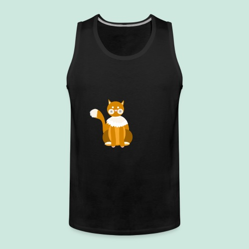 Kitty cat - Men's Premium Tank Top