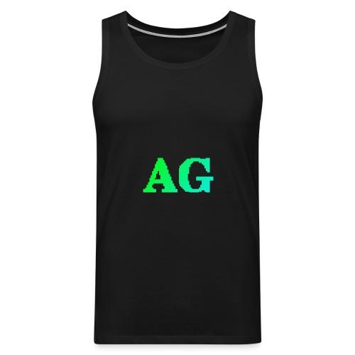 ATG Games logo - Miesten premium hihaton paita