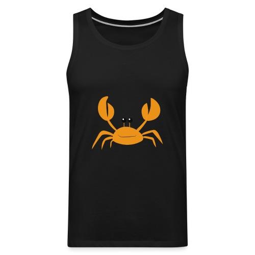 crab - Canotta premium da uomo