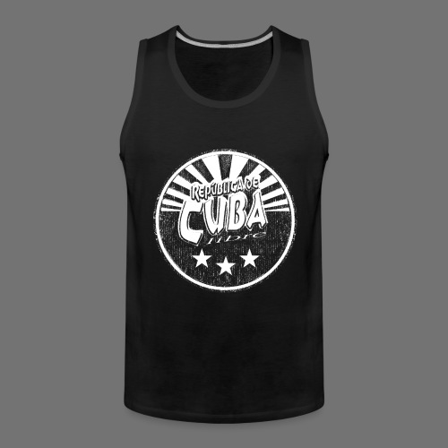 Cuba Libre (1c white) - Männer Premium Tank Top