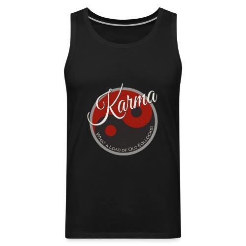 Karma B*llocks - Men's Premium Tank Top