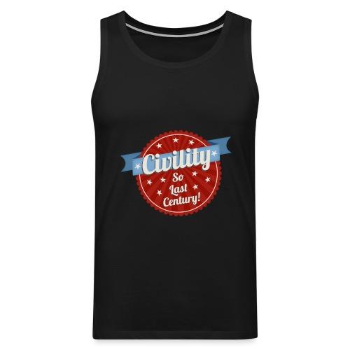 Civility - Men's Premium Tank Top