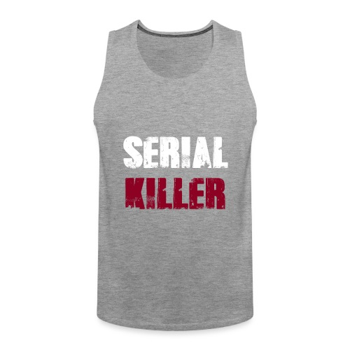 Serial Killer - Männer Premium Tank Top