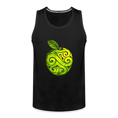Swirly Apple - Männer Premium Tank Top