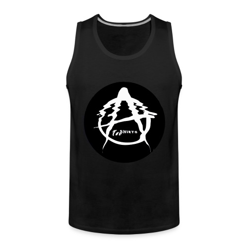A Logo - Men's Premium Tank Top